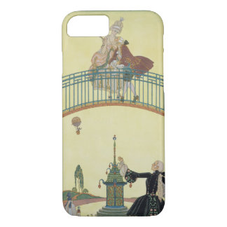 Love on the Bridge, illustration for 'Fetes Galant iPhone 8/7 Case