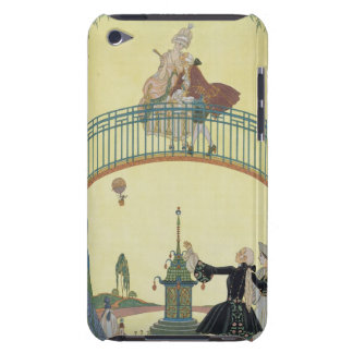 Love on the Bridge, illustration for 'Fetes Galant iPod Case-Mate Case