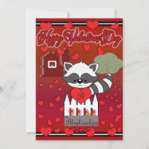 Love On The Farm Valentines Day Holiday Card