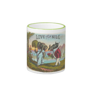 Love on the Nile Ringer Mug