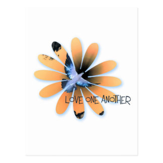 love one another-001 postcard