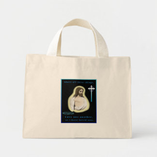 love one another bible bag