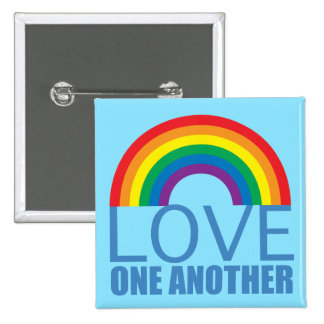 Love One Another Button