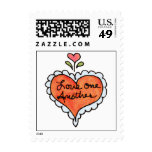 LOVE ONE ANOTHER by SHARON SHARPE Stamps