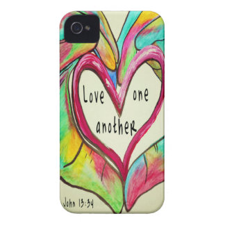 LOVE ONE ANOTHER Case-Mate iPhone 4 CASE