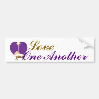 Love One Another -Customize Bumper Sticker