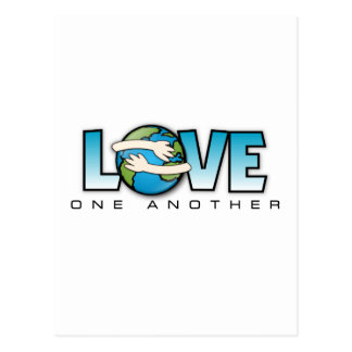Love One Another Customize Product Postcard