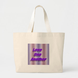 Love One Another Large Tote Bag