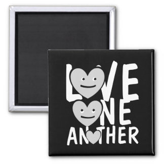LOVE ONE ANOTHER Message Cute Magnet