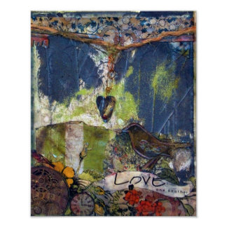 Love One Another Mixed Media | Poster