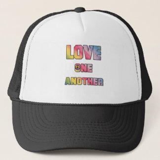 Love One Another Peace T-shirts and Gifts Trucker Hat