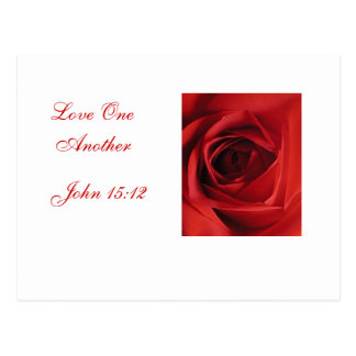 Love One Another Postcard