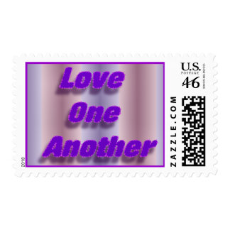 Love One Another Stamp