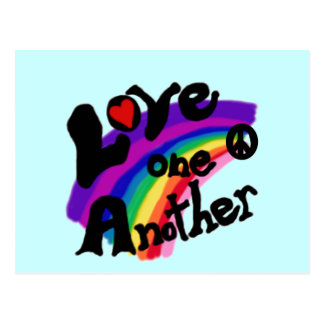 Love One Another T-shirts and Gifts Postcard