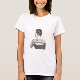 'Love One Another' Tattooed Victorian Woman T-Shirt
