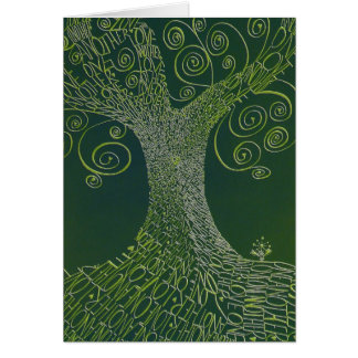 Love One Another tree ~ everyday note card