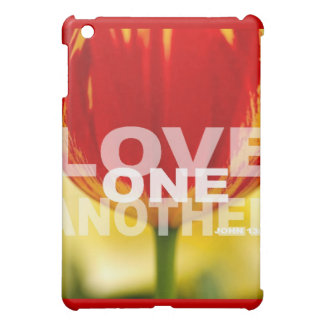 Love One Another Tulips Case For The iPad Mini
