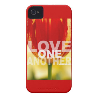 Love One Another Tulips iPhone 4 Case-Mate Case