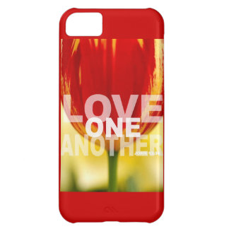 Love One Another Tulips iPhone 5C Cover