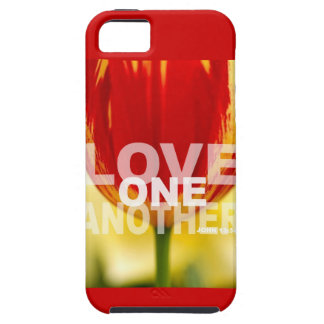 Love One Another Tulips iPhone SE/5/5s Case