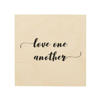 'Love One Another' Wood Wall Art