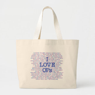 Love OPs Large Tote Bag
