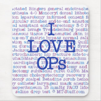 Love OPs Mouse Pad