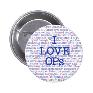 Love OPs Pinback Button