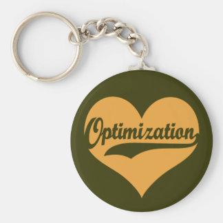 Love Optimization Keychain