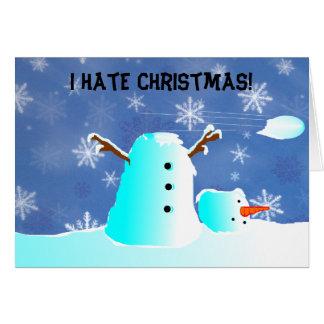 Love or hate Christmas Card