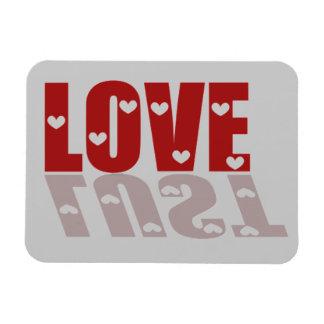 Love or Lust Flexible Magnet