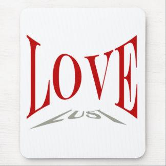 Love or Lust Mousepad