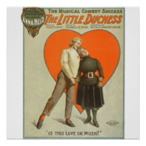 Love Or  Mush - Vintage Theater Poster