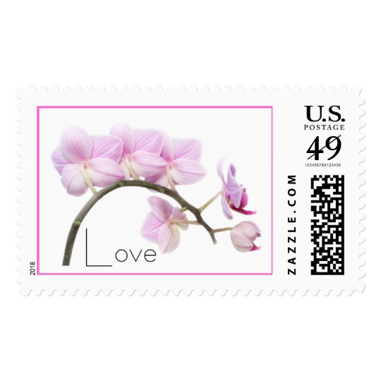 Love Orchids Postage