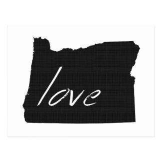 Love Oregon Postcard