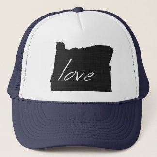 Love Oregon Trucker Hat