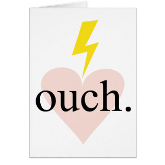 Love Ouch Card