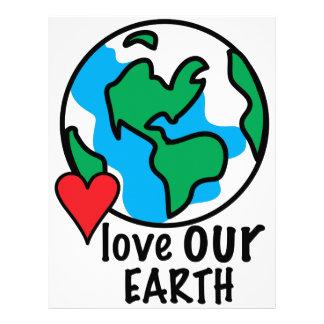 Love Our Earth Letterhead