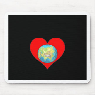 Love our Planet earth and our home Mouse Pad