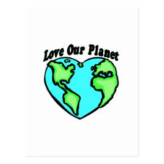 Love Our Planet Postcard