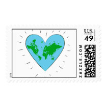 Love our planet - Stamp