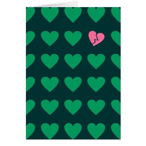 love outcast card