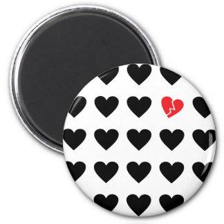 love outcast magnet