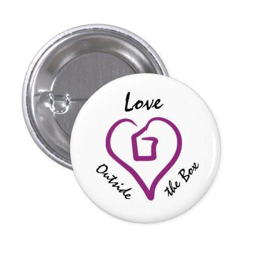 Love Outside the Box Button