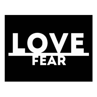 Love Over Fear Postcard