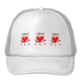 Love Over Hearts Trucker Hat
