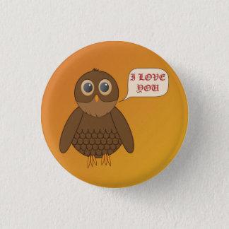 Love Owl Button
