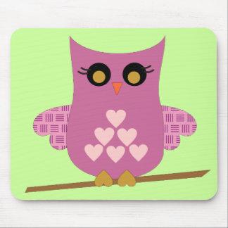 Love Owl Mousepad