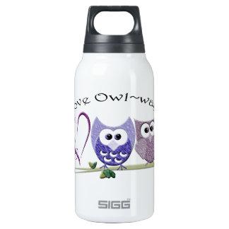 Love Owl~ways, cute Owls art Thermos Bottle