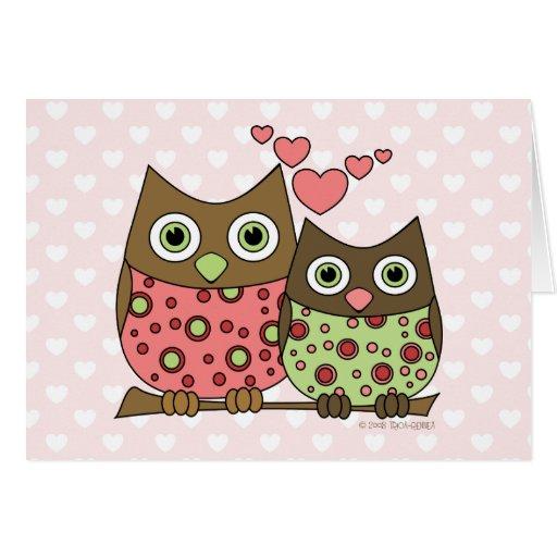 Love Owls Card